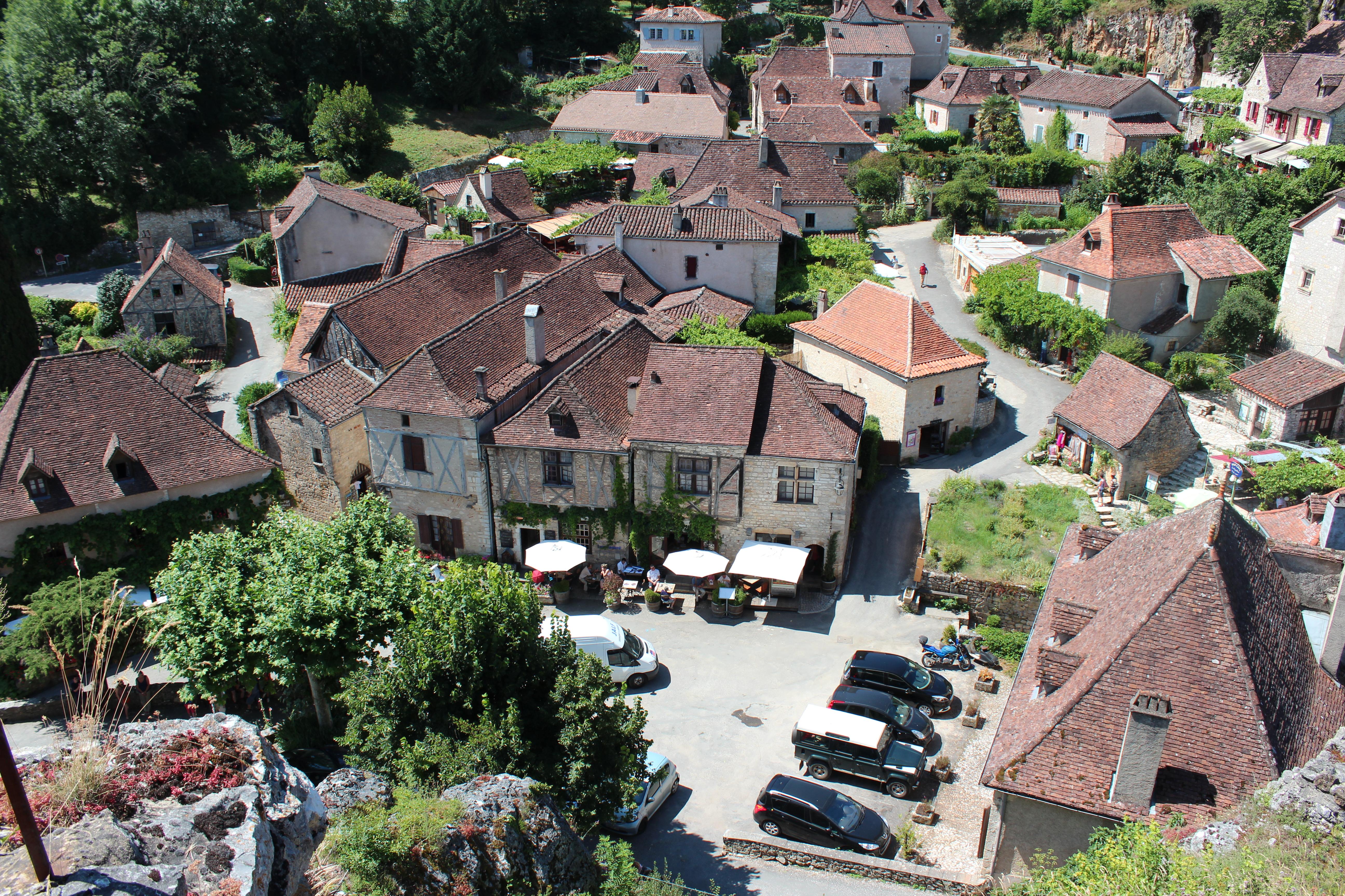 Saint Cirq Lapopie Plus Beau Village De France 2012 12 Et